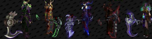 Die Sense der Totenwinde, Ulthalesh, ist eure Artefaktwaffe. Für sie gibt es zahlreiche verschiedene Designs. Bildquelle: wowhead.com.