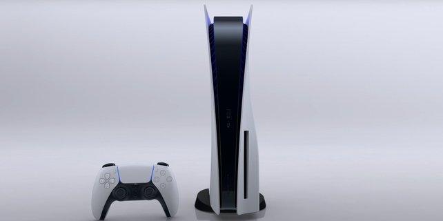 Die PS5 wird die größte auf dem Markt befindliche Konsole werden.