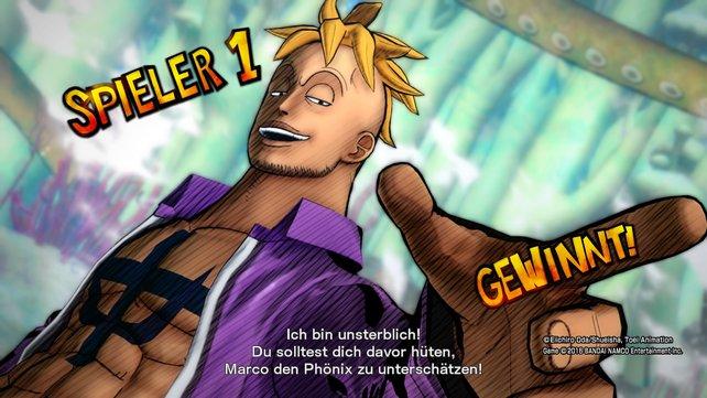 Marco in One Piece - Burning Blood: So könnt ihr alle Charaktere freischalten.