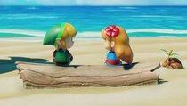 Spieler beschenkt seinen Freund mit Zelda-Bild aus Blöcken