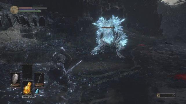 Dark Souls 3: Der härteste Gegner dieses Gebiets neben dem Endboss.