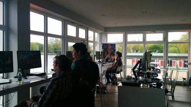 In einem Ruderclub in Hamburg lud Square Enix zur lustigen Anspielrunde.
