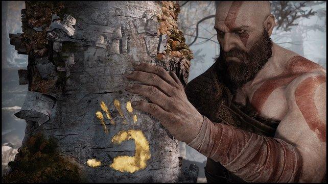 Stille, Trauer und Erinnerungen an die Vergangenheit: In God of War gibt es ungewohnt sanfte Momente.