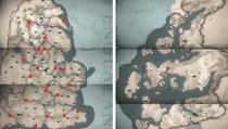 Assassin's Creed: Valhalla: Komplette Karte mit allen Gebieten im Überblick