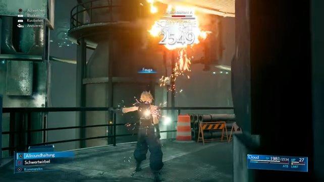 Gegen Luftkombattanten bietet es sich an mit Magie-Angriffen zu kämpfen. Vor allem Feuer-Angriffe sind Effektiv.