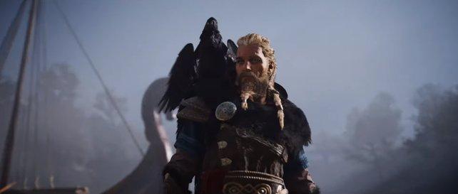 In Assassin's Creed: Valhalla werdet ihr unter anderem von einem Raben begleitet.