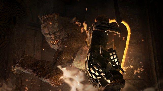Die Kämpfe sind ein besonderes Highlight von Dragon's Dogma.