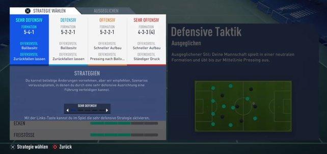 Dank dynamischer Taktiken verleiht ihr eurem Spiel in FIFA 19 mehr Flexibilität.