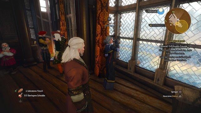 Gräfin Mignole hat eine interessante Geschichte zu erzählen.