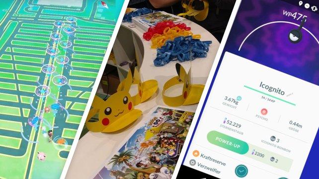 Pokémon überall, wohin man schaut. Niantic sollte immer auf einer Messe dabei sein.