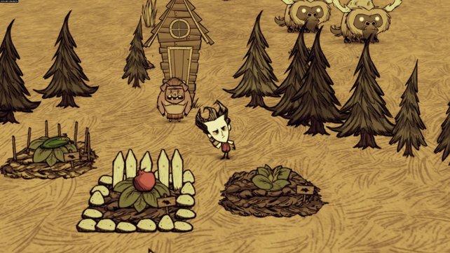 Eigenwillig und etwas creepy: Don't Starve ist ungewöhnlich, zeigt aber ähnliche Symptome wie viele andere Survival-Spiele.