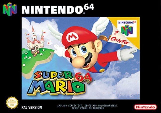 Auch in Europa ist Super Mario 64 eines der Spiele, die zeitgleich mit der Konsole auf den Markt kommen.
