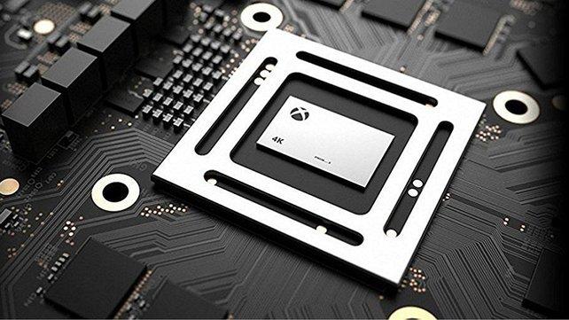 """Technisches Meisterstück: Der """"System on a Chip"""" liefert genug Power für 4K-Auflösungen."""