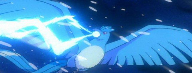 "So sieht das Legendäre Pokémon ""Arktos"" aus."