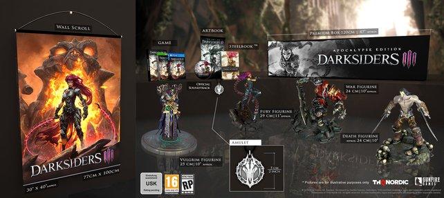 Die geplante Apocalypse Edition enthält unter anderem wunderschön gestaltete Figuren aller bisherigen Hauptcharaktere.