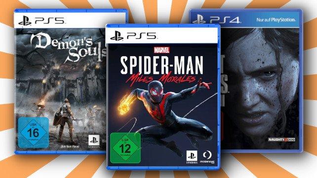 PlayStation: Spiele-Bundles für die PS4 und PS5 bei MediaMarkt stark reduziert.