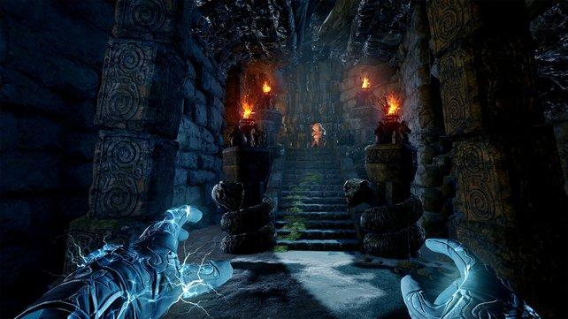 In Mage's Tale lässt die Unreal Engine 4 ihre Muskeln spielen. Vor allem die Lichteffekte wissen zu gefallen.