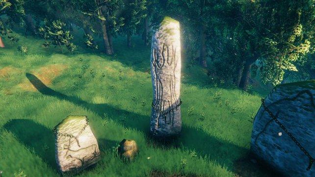 Hängt die Beute des Uralten an den passenden Haken beim Startpunkt, um die Gabe der Götter in Valheim zu erhalten.
