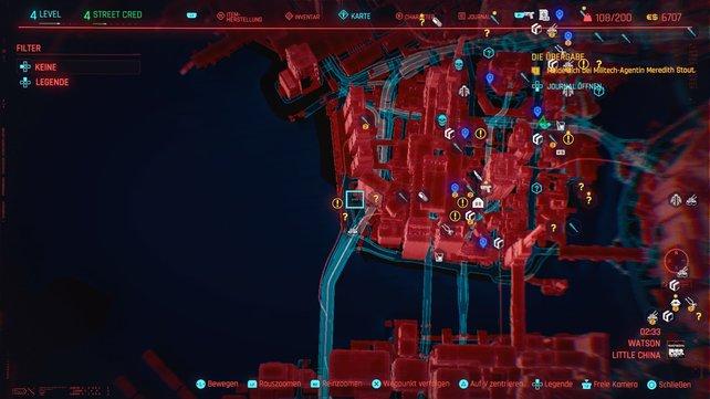Der erste Cyberpsycho versteckt sich in Little China.