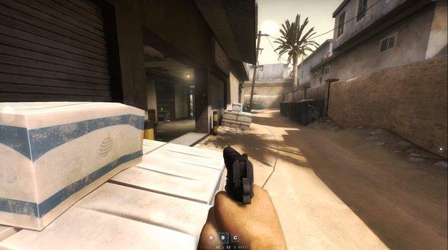 Pistolen solltet ihr niemals unterschätzen. Der Griff zur Pistole ist immer schneller als das Nachladen eurer Primärwaffe.