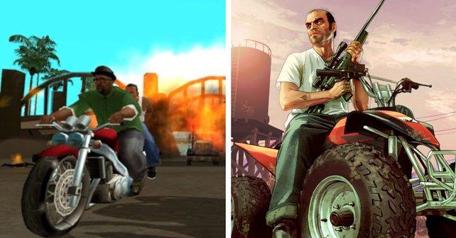 Von GTA bis GTA 5: Welcher ist der schlechteste, welcher ist der beste Teil?