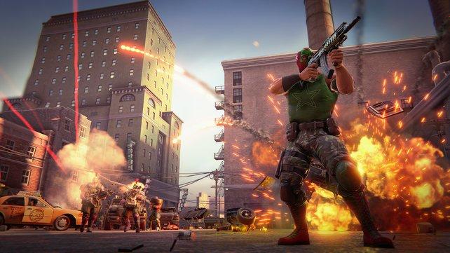 Standesgemäß bietet das Remaster mehr Grafikeffekte mit verbesserter Beleuchtung, Partikeln, Explosionen und Feuer.