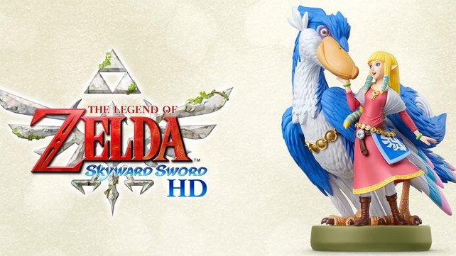 Zum Release von Skyward Sword HD erscheint auch ein passender Zelda & Wolkenvogel-Amiibo.