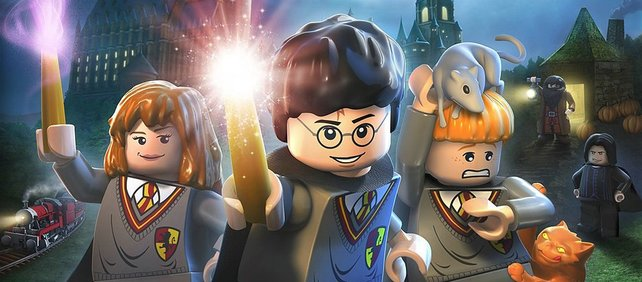 Harry, Ron und Hermine zaubern auch in Lego-Gestalt, was das Zeug hält!