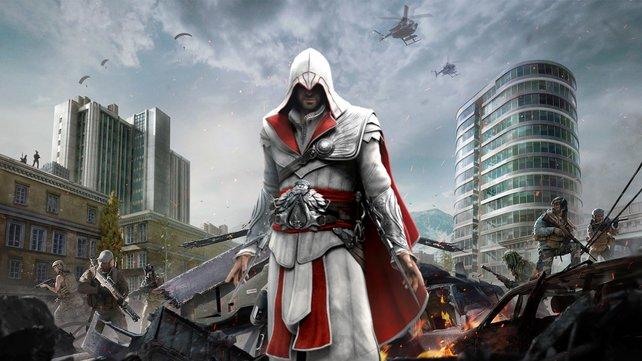Eine CoD: Warzone-Spielerin bringt den Geist von Ezio Auditore ins Spiel.