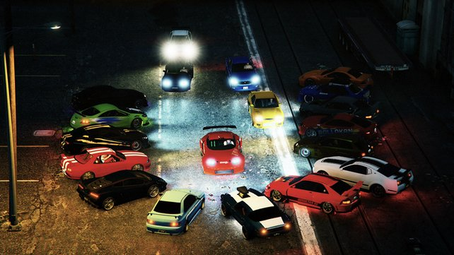 "Autorennen, Action, Tuning - Spieler Zocker TV 2013 hat mit seiner Crew den kompletten ""The Fast and the Furious""-Film in GTA Online nachgedreht."
