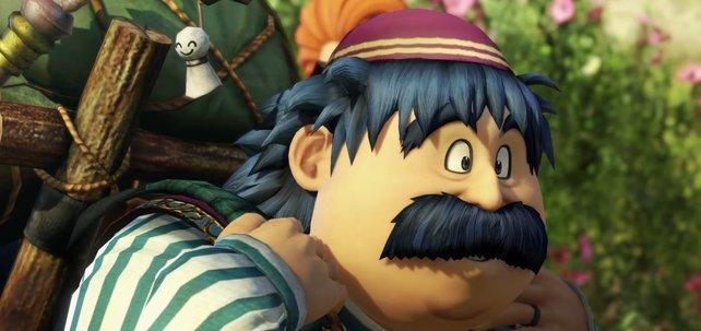 Torneko verläuft sich im Wald und trifft auf unsere Gruppe in Dragon Quest Heroes 2.