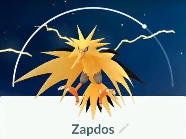 Zapdos wartet nun auf euch in Pokémon Go!