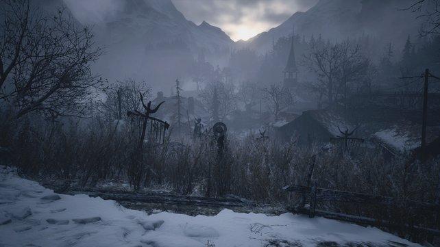 Versteckte Orte, Schlösser und weite Felder: Das Dorf in Resident Evil 8 Village hat einiges zu bieten.