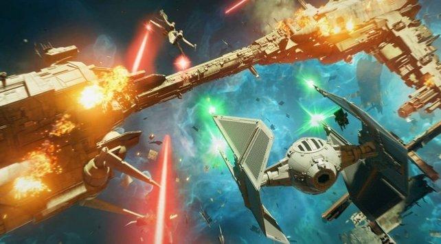 Star Wars: Squadrons bekommt neue Sternenjäger.