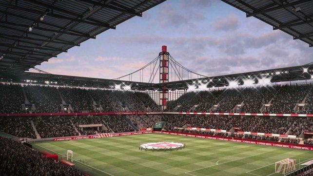 In FIFA 20 ist erstmals auch das RheinEnergieStadion des 1. FC Köln mit dabei.