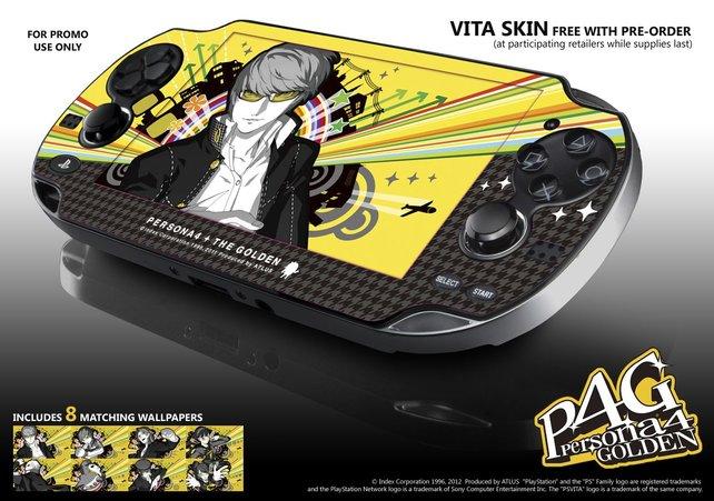 Stylish: Persona 4 - The Golden gab es für Vorbesteller mit einem Skin und passenden Wallpapers.
