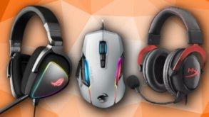 Headsets, Gaming-Mäuse und mehr im Angebot