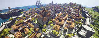 Havanna aus Assassin's Creed 4 in Minecraft nachgebaut