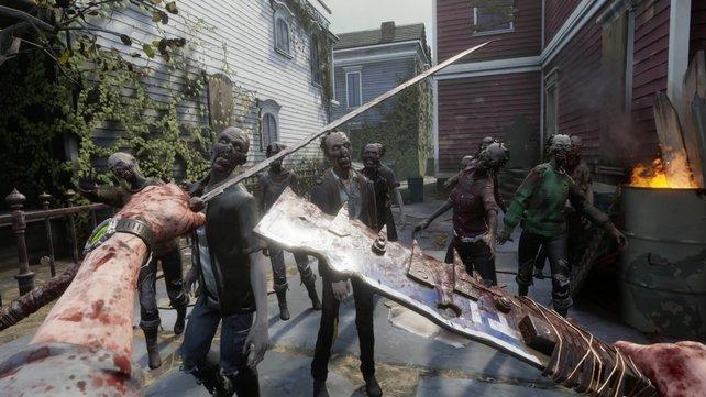 In The Walking Dead: Saints & Sinners müsst ihr euch Massen an Zombies stellen - natürlich nicht ohne das entsprechende Equipment, um die Wiedergänger zu erledigen.