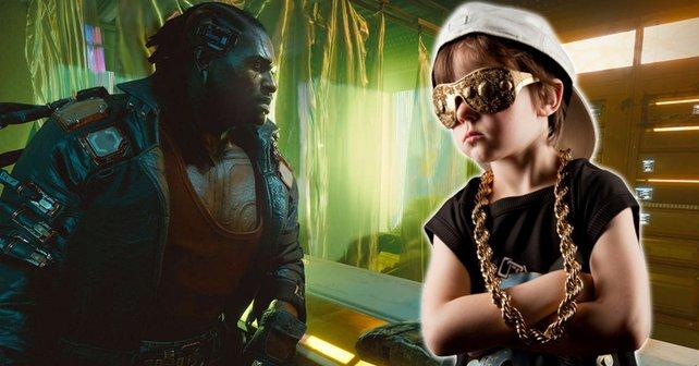 Ein Reddit-User hat einen neuen Bug entdeckt, der Cyberpunk 2077 eine neue Gang hinzufügt. Das Gefährlichste an ihr: Ihr cooler Kleidungsstil. Bildquelle: Getty Images / sjharmon.