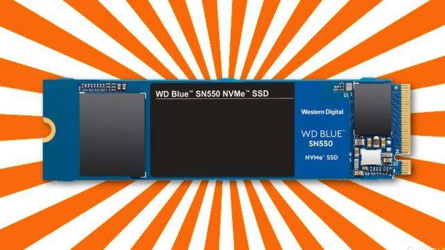 """Holt euch jetzt die """"WD Blue SN550 NVMe 1 TB""""-SSD zum Top-Preis!"""