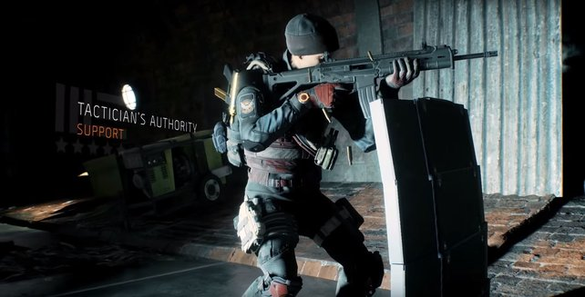 Gear-Set: Autorität des Taktikers