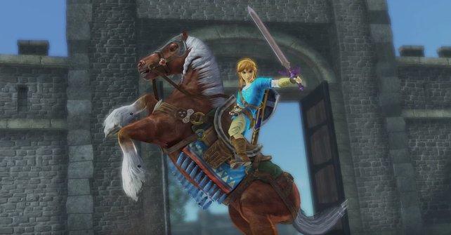 In der Switch-Version könnt ihr Link und Zelda auf Breath of the Wild spielen.