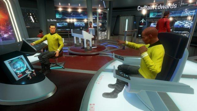Ohne den Captain läuft gar nichts. Er muss sein Team optimal koordinieren.