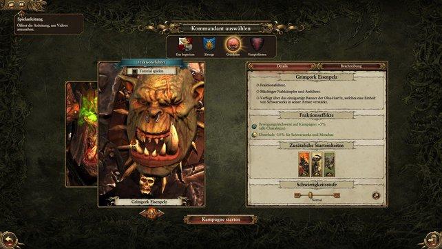 Schaut euch die Fähigkeiten eurer Kommandanten bei Total War: Warhammer an und wählt, was zu eurer Spielweise am besten passt.