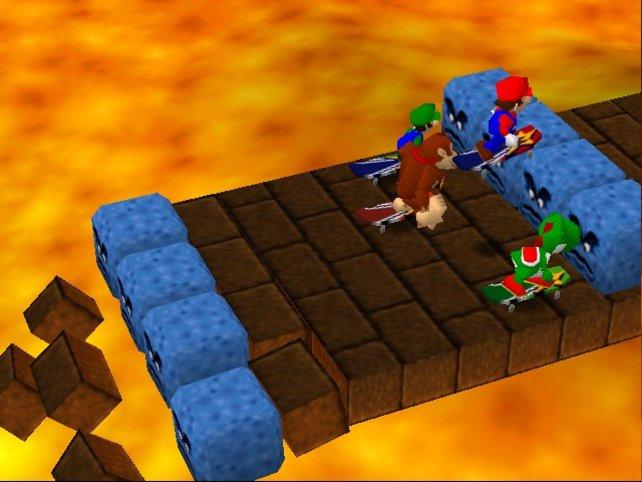 Die erste seiner bis heute 19 Partys feiert Mario 1998 auf dem N64.