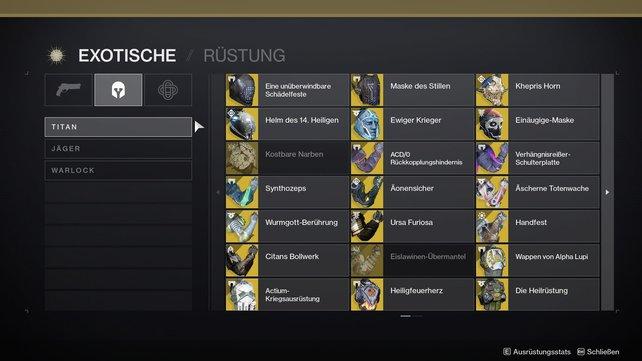 Habt ihr schon alle exotischen Waffen und Rüstungen in Destiny 2 gesammelt?