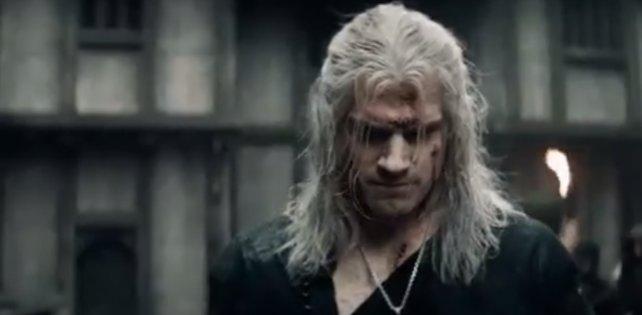 The Witcher auf Netflix.