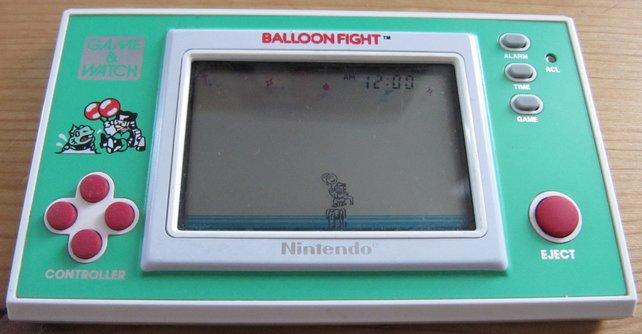 Ballon Fight gab es auch auf dem NES.