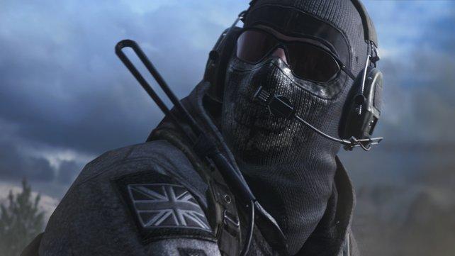 Ghost ist auch in der Neuauflage von Call of Duty: Modern Warfare 2 mit dabei. Der Screenshot stammt aus der Remastered-Version.